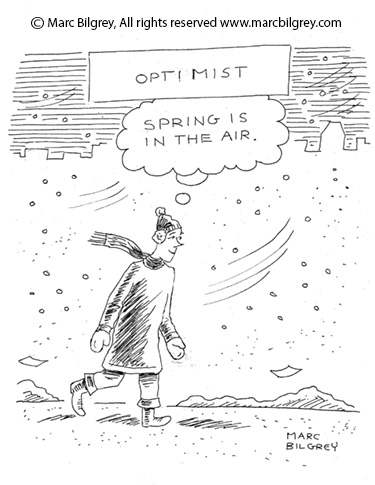 optimist spring is coming